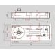 Напольный дверной доводчик BTS60 DORMA