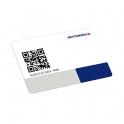 RFID карта с QR кодом