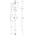 Комплект PHB 3000 с тремя точками запирания