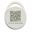 RFID брелок с QR кодом
