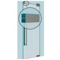 7500 Glass 19860321 монтажный набор на стеклянную дверь