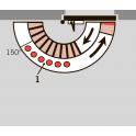 Рычаг складной ФОП для TS 73V, 83