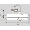 TS 68 дверной доводчик