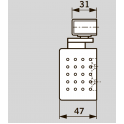 TS 91 EN3 дверной доводчик