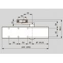 TS 83 EN 3-6 BC дверной доводчик