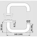 Комплект ручек Pure 8100 / 6501 / 6612