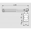 TS 73 V дверной доводчик