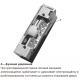Basic A электрозащелка с регулируемым язычком 6-12В AC/DC