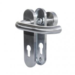 Комплект ручек на щитке Pure 8100 / 3020 / 7051K PZ/72, 38–56 мм, 8 мм, нержавеющая сталь
