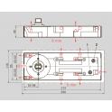 BTS 60 напольный доводчик без фиксации
