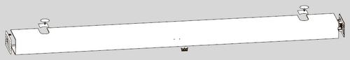 Цельная крышка ED PROFESSIONAL для приводов двустворчатых дверей.
